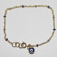 Wholesale 30Pcs/lot  Evil Eye Bead Turkey Jewish Hamsa Hand of God Fatima Charm Bracelet