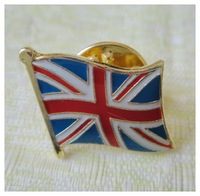 16mm, single pin & flag pin,iron,painted & epoxy surface,1pcs/plastic bag,MOQ: 300pcs, also as client request, free shipping