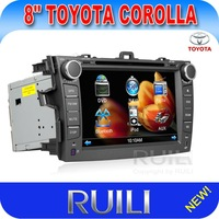 8 inch Toyota Corolla Car DVD Player with DVD/CD/MP3/MP4/Bluetooth/IPOD/Double Zone/PIP/GPS