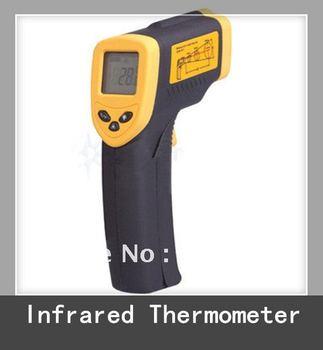 1pc Temperature Gun Infrared Thermometer w/Laser Sight
