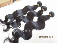 "queen hair products 12""-26"",2pcs/lot 100% brazilian Virgin hair weft Body Wave factory price,100g/pcs Grade AAAA+"