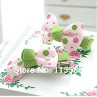 100pcs/lot Free shipping 4.5-5cm HA0029 kids' hair clip,  wholesale hair bows