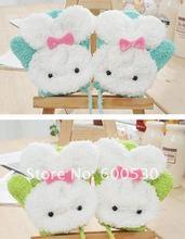 2012 Winter lovely children's jewelry velvet rabbit gloves baby Gauntlets  free shipping