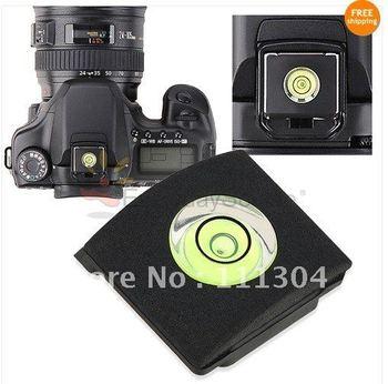 Spirit Level Hot Shoe Cover Protector for Canon Nikon Sony Panasonic DSLR Camera