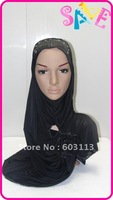 BZ004 Free shipping latest style hot sale high quality printed islamic hijabs, muslim scarves,arab scarf
