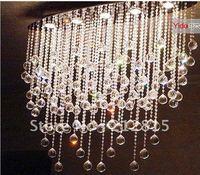 Free shipping crystal Lamps lighting the oval shape crystal lamp chandelier lamp modern minimalist YD658 Restaurant lighting