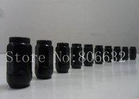 """16pcs 12x1.5 Black Standard Acorn Lug Nuts Brand New Wheel Nuts 3/4"""" HEX 37MM (1.45"""") TALL"""