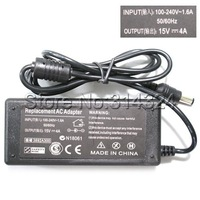 New Power Adapter Charger AC 100-240V to DC 15V 4A Adapter for Toshiba Laptop Free Shipping
