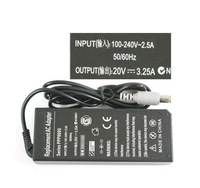 New Power Adapter Charger AC 100-240V to DC 20V 3.25A Adapter for IBM Laptop Free Shipping