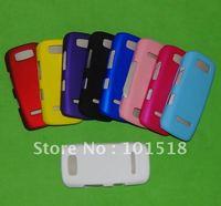 10pcs/lot Free shipping wholesale-Newest Rubberized Hard Plastic Cover Case for nokia Asha 305