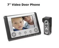 Hot 7 Inch Video Door Phone Doorbell Intercom Kit Night Vision, freeshipping, dropshipping