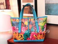 2014 summer newest print aesthetic wind corea one-shoulder handbag