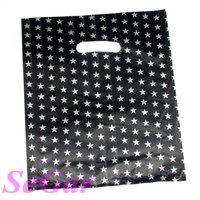 Free Shipping 200 Economic Plastic Retail Gift Shopping Bag 25X20cm XA2025-23