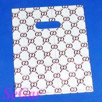 Free Shipping 200 Economic Plastic Retail Gift Shopping Bag 25X20cm XA2025-25