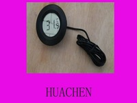 7704 free shipping  Indoor round Digital Thermometer TL8009