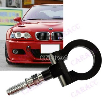 New Universal All Model Trailer truck Hook for Car Eye Tow Hook Towing Racing Front Rear Black Drop Shipping 5930