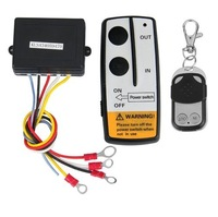 Free Shipping 12Volt Wireless Remote Control Kit for Truck Jeep ATV Winch