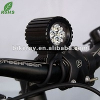 Free shipping  1600lm HIGH Power waterproof LED bike front light/LED Bicycle front light(RAY IV)
