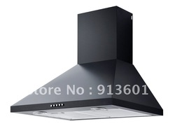 COOER HOOD,WALL MOUNTED RANGE HOOD,Wall mounted hood,Black Coating(China (Mainland))