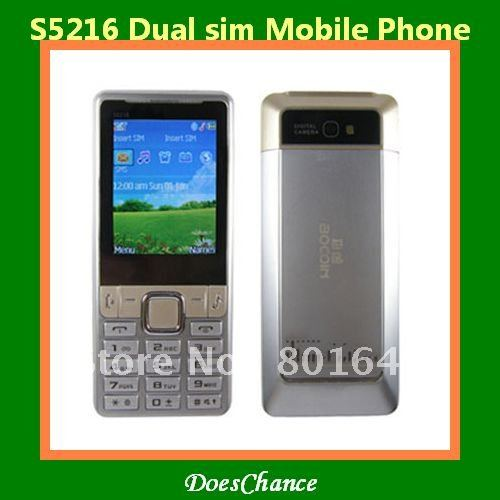 S5216 dual sim camera large 3D sound cell phone(China (Mainland))