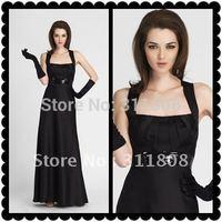 2012 Fashion Black Bridesmaid Dresses Bridesmaid Gown-AD-028-Free Shipping