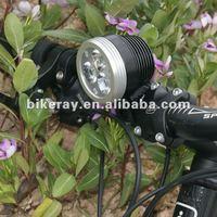 Free shipping 30W 3000lumens waterproof and wireless Bikeray led  Bicycle light