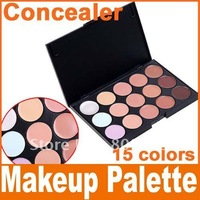 2014 new 15 Color Concealer Camouflage Makeup Palette Set, Free Shipping, Dropshipping