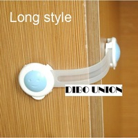 Free shipping 16CM long style Cute Cartoon Bendy Door Drawers Safety Lock For Child Kids Baby wholesale 30pcs/lot