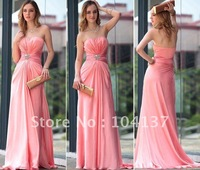 Free Shippment super Sexy backless bridal prom evening party dress