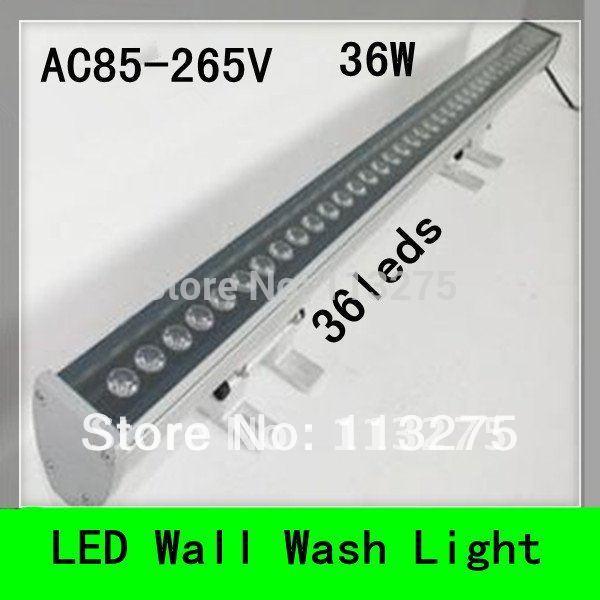36W LED Outdoor Energy Saving Waterproof Wall Washer Light Lamp Linear Bar Li