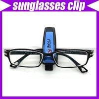 (10pcs/lot)New Fashion Smart Car Vehicle Sun Visor Sunglasses Reading Glasses Holder Clip Durable #3433