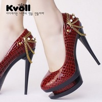 Free shipping New arrival Kvoll high quality fashion Platform Pumps Sexy High Heels shoes Lady Shoes Dilys dropship store Y611