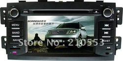 Hot selling Aftermarket car dvd for Kia BORREGO with Radio /GPS/BLUETOOTH/IPOD at cheap wholesale price(China (Mainland))