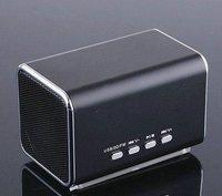 Low price portable speaker TF Micro SD Music Player FM Radio USB mini speaker free shipping