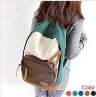 Leisure backpack shoulder bag schoolbag men and women travel bag Free shipping