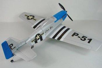 brand new Free Shipping + P-51 Mustang 4CH 2.4G brushless RTF GYRO EPS Rc Airplane Model Plane 748