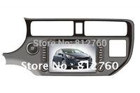 "8"" Car DVD GPS for KIA K3 / Kia RIO 2012 with Navigation bluetooth TV IPOD Radio RDS Free GPS Map Free shipping"