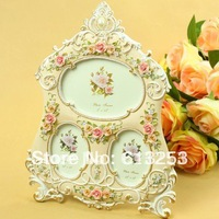 Resin Anaglyph Photo Frame / Picture Frame / European Rural Style Rahmen.Free Shipping  A0107203