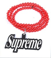 New arrival Acrylic NYC Necklace Supreme Pendant Necklaces Acrylic Jewelry 20pcs/lot
