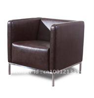 Modern furniture / living room fabric/ bond leather sofa/ sofa Chair / one seater/single sofa