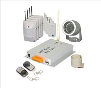 Fusionsea DVR Home Security Wireless Alarm System With GSM & SMS & MMS Function - M9