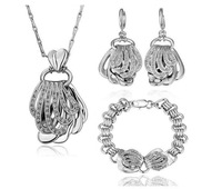 Min. order $15(mixed) 18K Gold Plated Rhinestone Wrap Jewelry Sets Austrian SW  Crystal new
