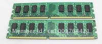 4pcs/ Lot High quality RAM memory module DDR2  667MHZ 2GB kit  for desktop  + Free shipping