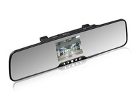 "3.5"" TFT Monitor, Bluetooth rearview mirror, FM,TTS,Built in 2 speaker&mic,car backup camera"