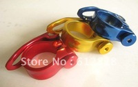 For Road MTB bike Bicycle Cycling Seat Saddle Post Clamp Lock Quick Release 31.8mm/34.9mm