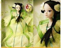 Supernova sales! Kurhn doll, Chinese Doll,29cm, joint body model,Fashion Doll, Free Shipping