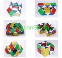 Snake Magic Cube IQ Puzzle Cube Children's Plastic Toys (SX-159)