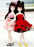 Supernova sales! Kurhn doll, ChineseDoll,29cm,pink/red, joint body model,Glamorous Kurhn, Fashion Doll, Free Shipping