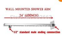 "CM0684  24"" Polished Chrome Rain shower Shower Arm"