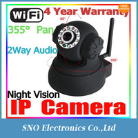 WIRELESS WEBCAM IP CAMERA PAN/TILT BABY/PET/HOME MONITOR WIFI CAM IPHONE/ANDROID MPEG IR Night Vision CCTV Security Camera